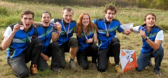 MČR štafety a družstva = bronzová medaile