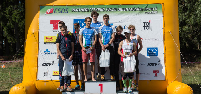 Štafeto-sprintový víkend + antidopingová tečka