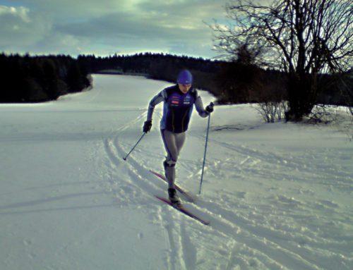 The beginning of the skiing season